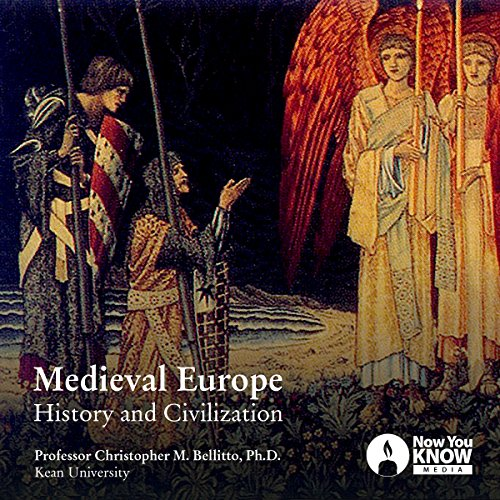 Medieval Europe: History and Civilization audiobook cover art