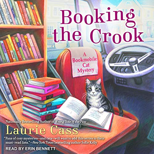 Booking the Crook audiobook cover art