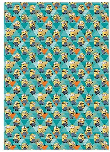 Despicable Me Geschenkpapier Rolle Wrap 4m x 70cm