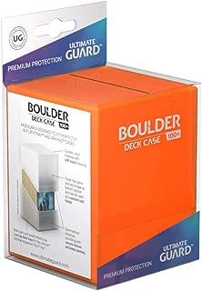 Ultimate Guard UGD010846 Boulder 100 + Deck Case, Poppy Topaz