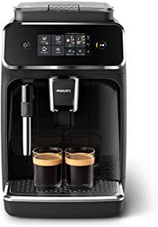 Philips EP2221/40 Machine Espresso automatique Séries 2200 Mousseur à lait Noir Laqué
