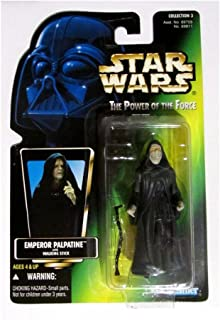 Star Wars Action Figure Power of the Force - Emperor Palpatine with walking stick