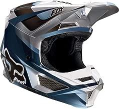 2019 Fox Racing V1 Motif Men's Off-Road Motorcycle Helmet - Blue/Gray / Large