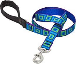 Lupine 1 Inch Sea Glass Dog Lead for Medium and Large Dogs