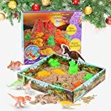 RenFox Jugar Arena Arena Mágica 3D Play Sand 500g Juego Súper Sand Magic Super Playset Natural de...