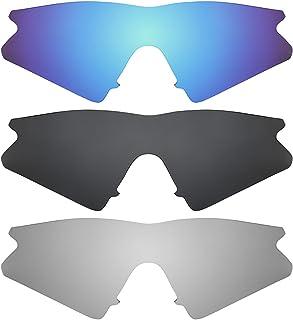 37a33855d1 Revant Combo de 3 pares de lentes polarizados, de reemplazo, para Oakley M  Frame