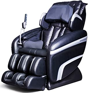 Osaki OS7200HA Model OS-7200H Executive Zero Gravity S-Track Heating Massage Chair, Black, Computer Body Scan, Arm Massage, Quad Roller Head Massage System, 51 Air Bag Massagers
