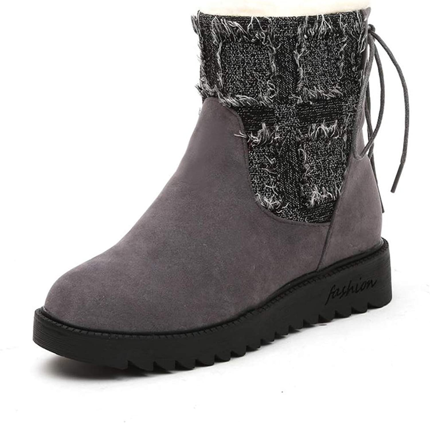 Gusha Women's Classic Snow Boots Warm shoes Winter Booties