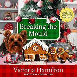 Breaking the Mould     Vintage Kitchen Mystery Series, Book 8              Written by:                                                                                                                                 Victoria Hamilton                               Narrated by:                                                                                                                                 Emily Woo Zeller                      Length: 10 hrs and 14 mins     Not rated yet     Overall 0.0