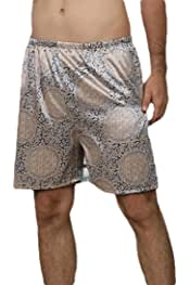 WSPLYSPJY Mens Satin Boxers Shorts Pajama Underwear Beachs Shorts