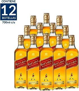 Whisky Johnnie Walker Red Label 700 ml / 12 PIEZAS