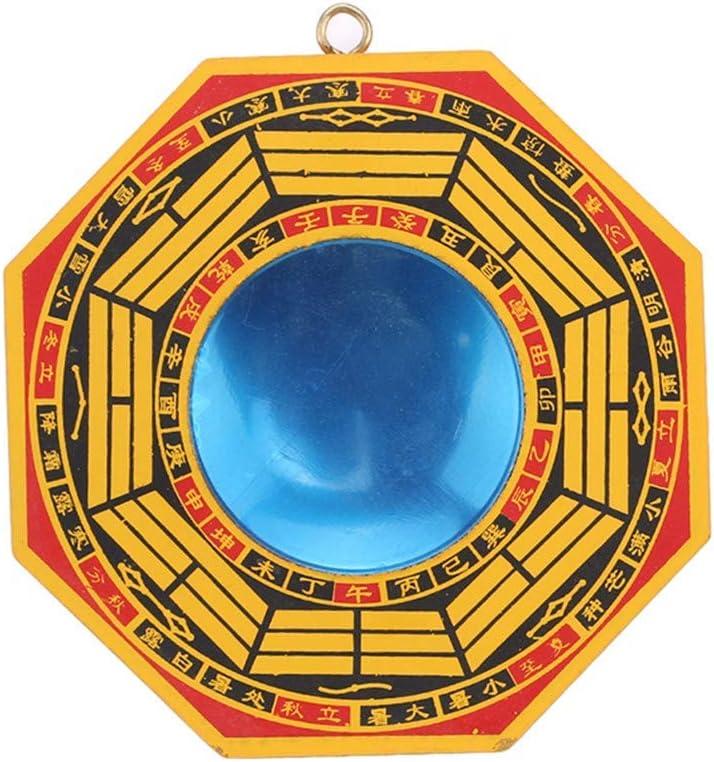 Potelin Bagua Mirror Feng Oklahoma City Mall Shui Rare Convex For Protection Agai