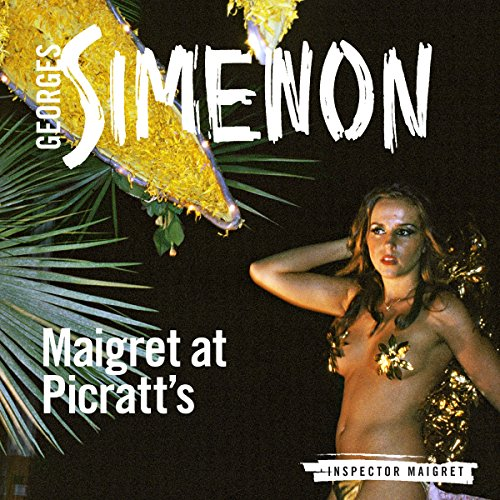 Maigret at Picratt's audiobook cover art