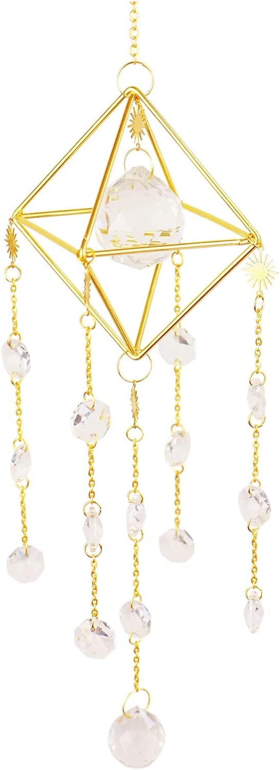 DJZNDINGJIEJIE New Shipping Free Sun Catchers with Crystals Window Decor Recommended Indoor C