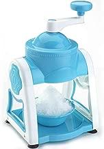 Qualimate Manual Ice Gola Slush Maker Ice Snow Maker Machine (Blue)