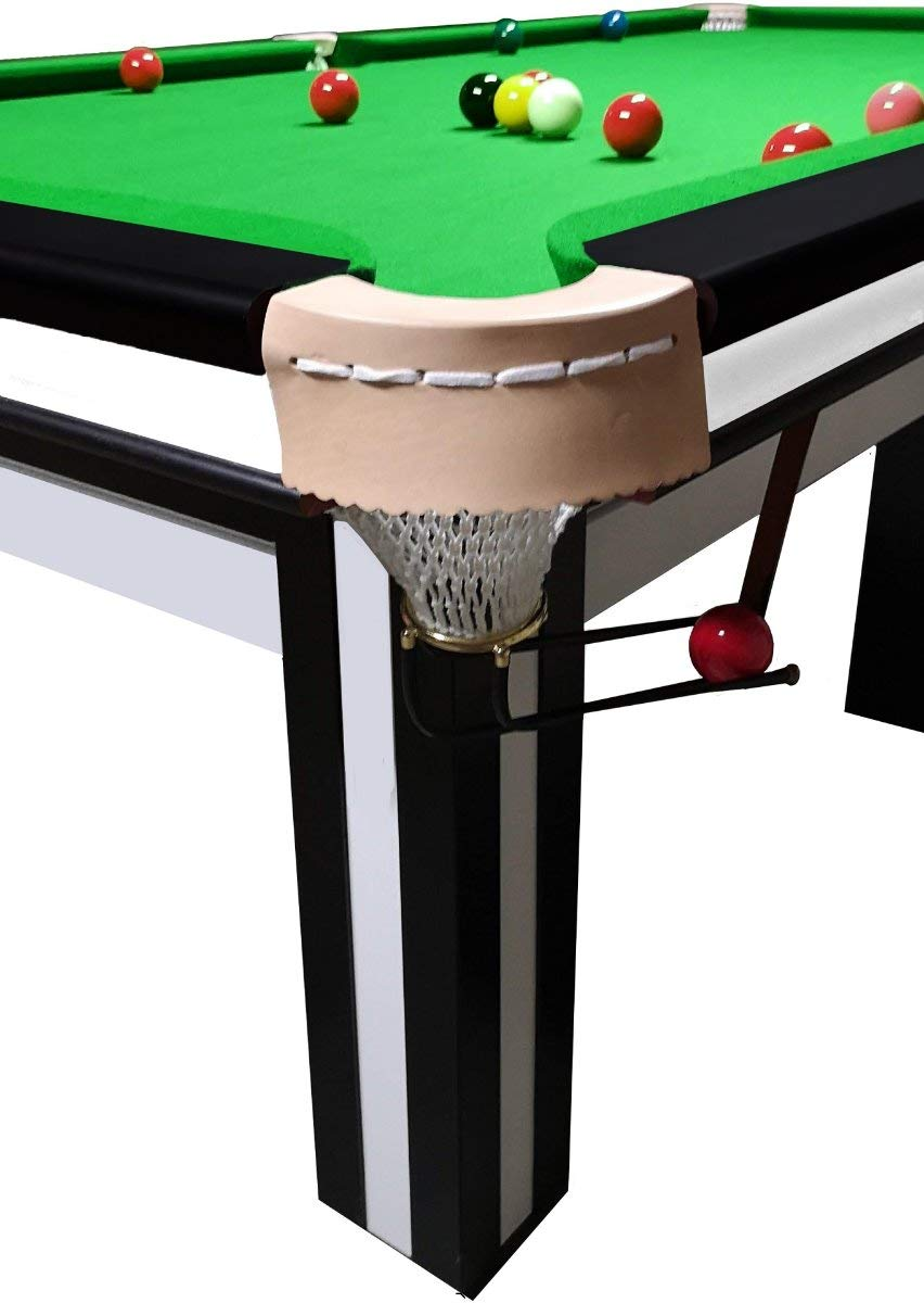 Buckshot - Mesa de billar (370 x 195 cm, tela verde de 12 patas ...
