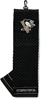 Team Golf NHL Embroidered Golf Towel, Checkered Scrubber Design, Embroidered Logo