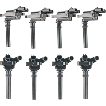 ECCPP Ignition Coils Pack of 8 Compatible with Chrysler 300 Dodge Durango//Magnum//Ram 1500//Ram 2500//Ram 3500 Jeep Grand Cherokee 2003-2005 Replacement for UF378 IC508 C1414