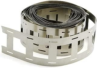 ZRM&E 1 Roll 18650 Lithium Battery Pack Nickel Strip 20.25mm Spacing 2 Parallel Batteries Spot Welding Nickel Belt