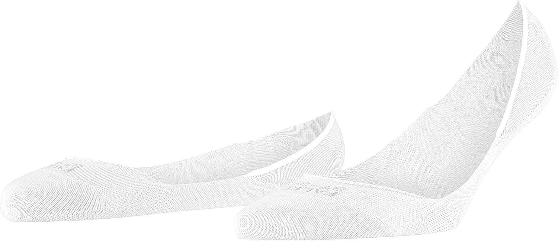 FALKE Womens Invisible Step Liner Socks Cotton Beige Black Grey White 1 Pair