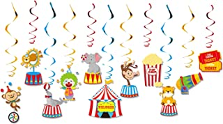 Party Tableware Carnival Circus Theme Party Favors Kids Birthday Tableware Sets Cartoon Animal Plates Party Decorations Su...