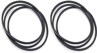 "Pro-Po Parts Shop (2pcs 48"" Drive Belt GX21833 GX20571 D140 D150 D160 L120 L130 145 155 for 100 Series John Deere"