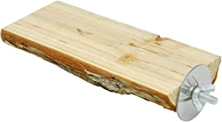 Baoblaze Drążek dla ptaków z naturalnego drewna klatka dla zwierząt domowych papuga akcesoria - 5-6 cm 15 cm