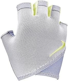 Women's Gym Essential Fitness Gloves L Phantom/Wolf Grey/Luminous Green|077