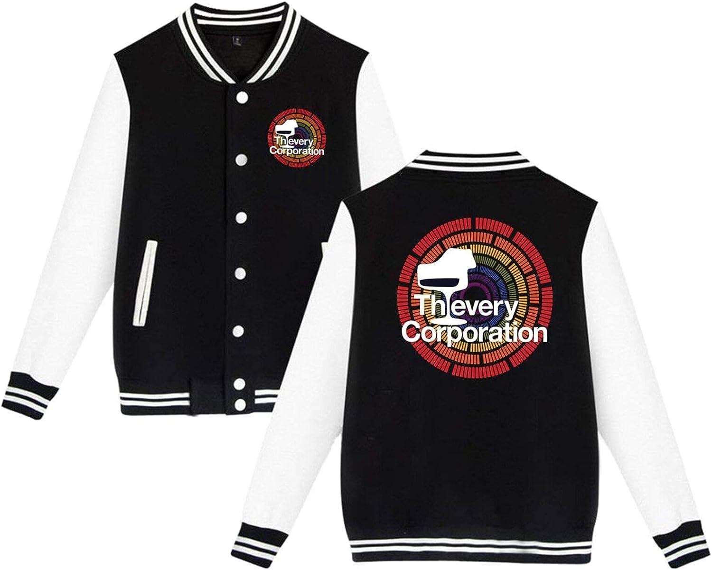 Super sale period limited Thievery Corporation Mens Slim Fit Jacket Varsity Baseball Over item handling ☆ Sport