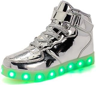 Rojeam Unisex Erwachsene High-Top LED Schuhe Sportschuhe USB Lade Outdoor Leichtathletik Beiläufige Paare Schuhe Sneaker F...