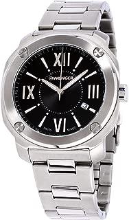 Edge Romans Black Dial Stainless Steel Men's Watch 011141118