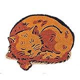Onlymat Cat Shape Coir Door Mat