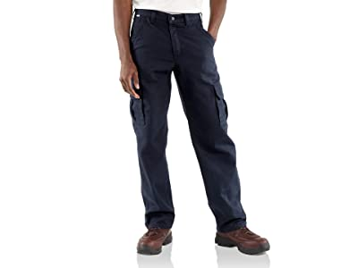 Carhartt Flame-Resistant Canvas Cargo Pants (Dark Navy) Men
