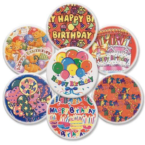 12 Dekorschilder, Happy Birthday   Geburtstagskuchen   Tortendeko