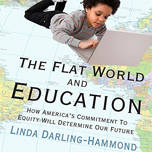 The Flat World and Education: audiobook cover art