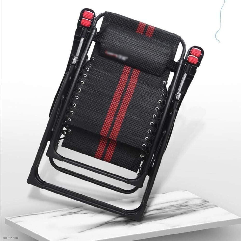Chaise Longue inclinables Chaise Longue de Pont, Chaise Longue zéro gravité Chaise Oblique de Camping de Plage avec accoudoir de Massage pour Salon Jardin extérieur A