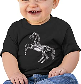 Horse Painted Like Skeleton Equine 3dRose Susans Zoo Crew Animal T-Shirts