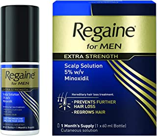 Regaine Strength Scalp Solution Hair Loss Treatment for Men