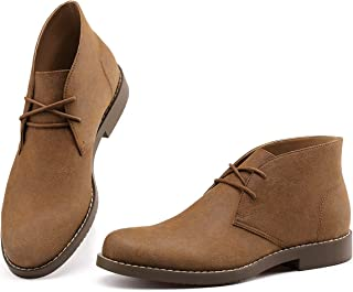 Best brown leather desert boots Reviews