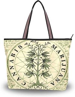 My Daily Damen Schultertasche Marihuana Cannabis Vintage