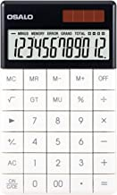 Pendancy Extra Large LCD Display Button Office Desktop Handheld Calculator (A-1-White)