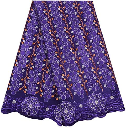 African Fabric El Paso Mall Sky Don't miss the campaign Blue 2020 Swiss Voil Lace