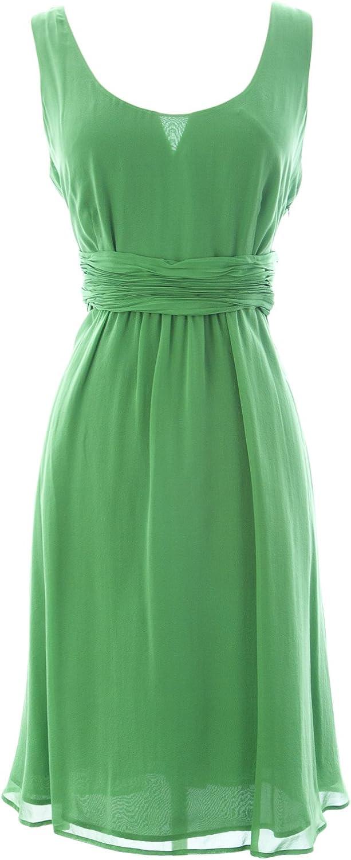 BODEN Women's Perfect Silk Dress US Sz 10 Lime Green