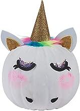 Fun Express Unicorn Pumpkin Decorating Kits (Makes 6) Halloween Crafts for Kids