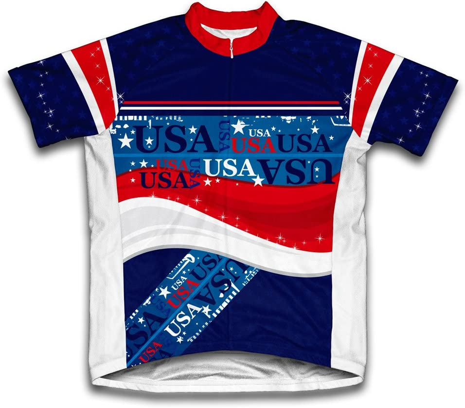 ScudoPro USA Short 2021new shipping free shipping Sleeve Men Cycling Jersey service for