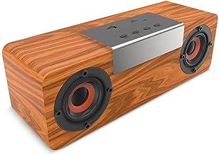 guizhoujiufu Radio Speaker Home Speakers Wooden Speaker Outdoor Portable TWS Bluetooth Speaker Mini Speaker Mp3 Player Sup... photo