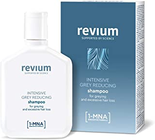 REVIUM INTENSIVE GRAY-REDUCING SHAMPOO WITH 1-MNA MOLECULE FOR WEAK EXCESSIVELY FALLING OUT HAIR 200 ml