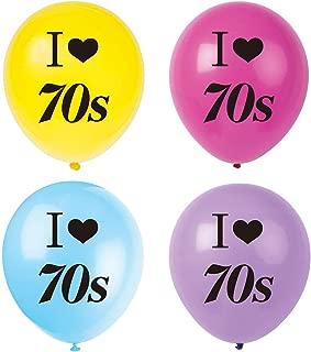 disco balloons decorations