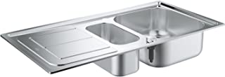 GROHE K300 | Küche - Edelstahlspüle mit Abtropffläche | edelstahl | 31564SD0