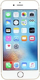 Apple iPhone 6S, 16GB, Rose Gold - Fully Unlocked (Renewed)